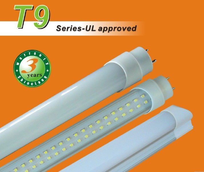 UL,RoHS,CE Approved T9 LED Tube Lights (AC/DC)