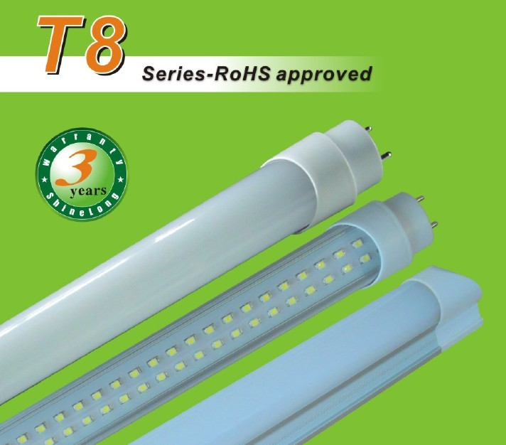 RoHS Approved T8 LED Tube Lights (AC/DC)