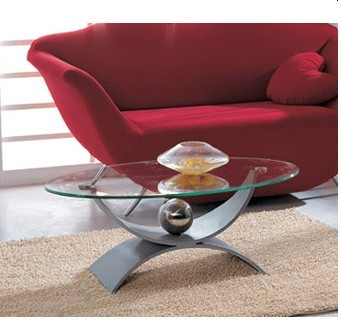 Tempered Glass Table (CT-113)