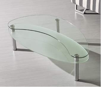Tempered Glass Table (CT-217)