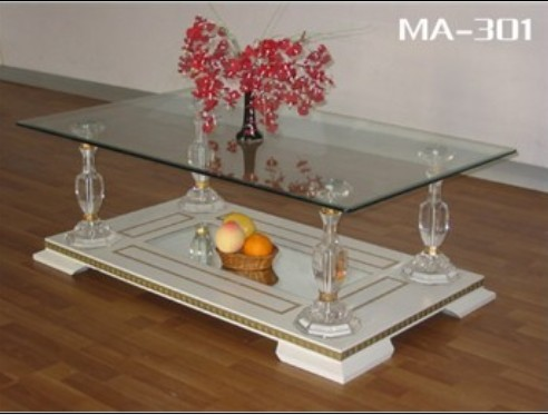 Tempered Glass Table (MA-301)