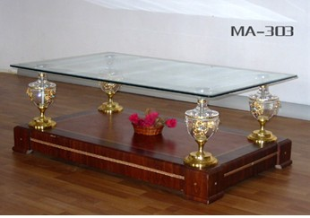 Tempered Glass Table (MA-303)